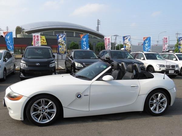BMW Z4 ロードスター2.2i 皮シート 社外ナビ 地デジ ETC