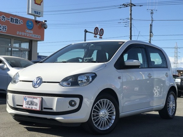 VW up! 5ドアhigh up レーダーブレーキー ナビ ETC ク…