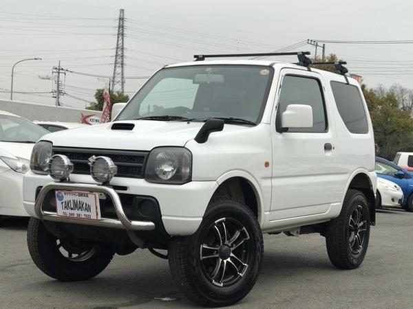 ジムニー 660XG 4WD ターボ 1年保証付 社外アルミ グリルガード
