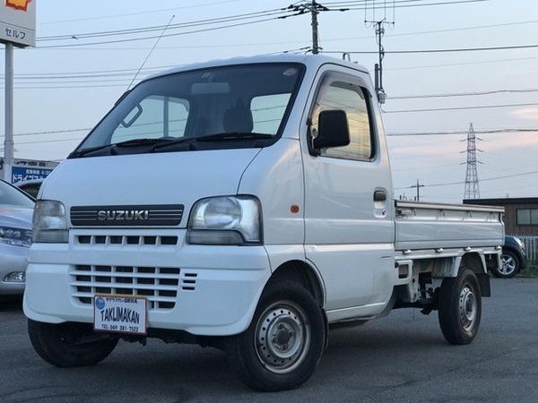 キャリイ トラック660KU 3方開 4WD エアコン 走行23000Km