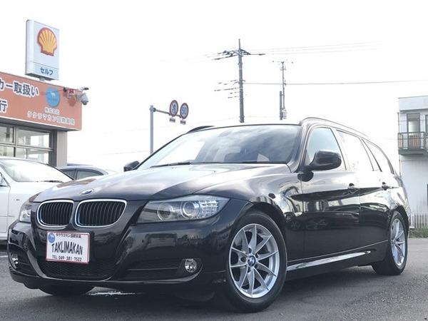 BMW 320iツーリング 純正HDDナビ Bカメラ ETC パワー…