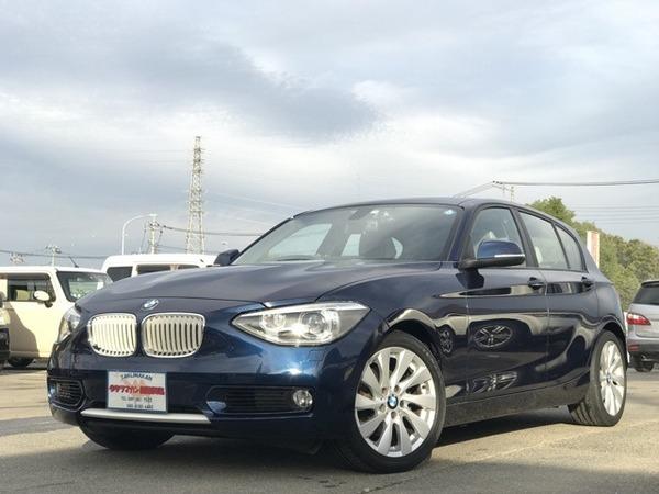 BMW 120iスタイル 純正ナビ Bカメラ ETC i-Stop 1年保証付