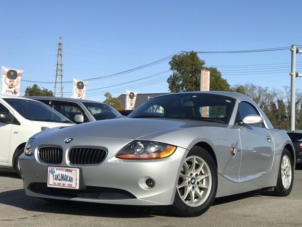 BMW Z4 ロードスター2.2i ワンオーナー ETC 走行11000Km 純正AW
