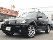 BMW X3 xドライブ25i MスポーツパッケージⅠ 4WD 純正ナビ ETC パワーシート クルコン