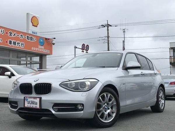 BMW 116iスポーツ メーカーナビ Bカメラ ETC 障害物セン
