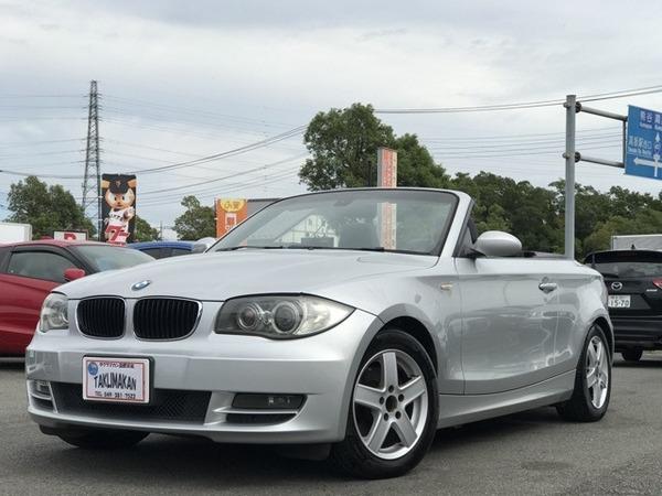 BMW 120iカブリオレMスポーツパッケージ 電動オープン Bカメラ 地TV ETC Pシート