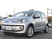 VW up! 5ドアhigh up! 6ヶ月保証付 ワンオーナー オートクルコン