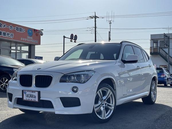 BMW X1 xドライブ20i Mスポーツパッケージ 4WD 純正メーカーナビ Bカメラ ETC 純正AW