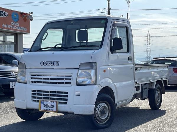 キャリイ トラック660KCエアコン3方開 4WD 4WD エアコン