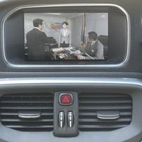 ボルボV40 T4 SE ヒーター付メモリ皮パワーシート ナビ TVのサムネイル